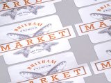 Polished Silver Vinyl Labels