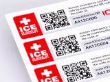 QR Code Labels and Stickers