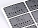 Silver Metallic Labels