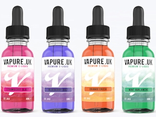 Vape E-Liquid Labels