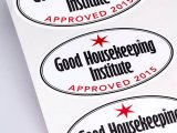 White Matt Waterproof Vinyl Labels