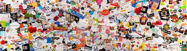 Sticker Wall