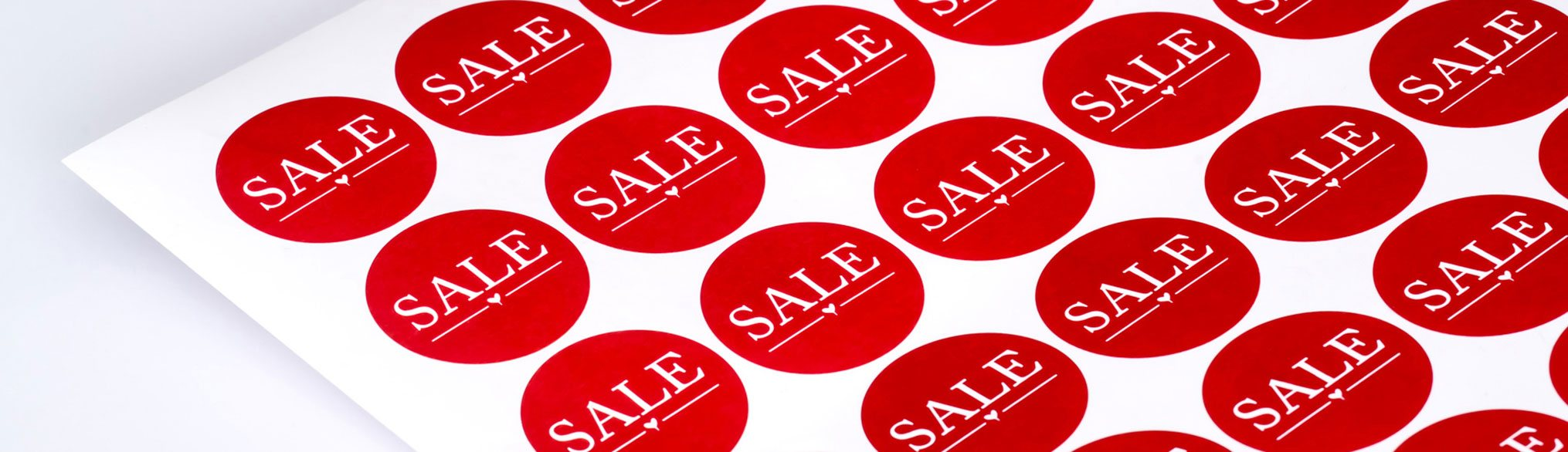 Retail Price Labels and Stickers