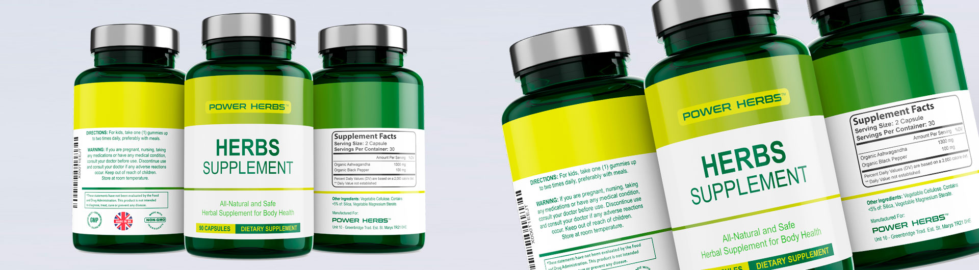 Labels for Vitamins and Supplements