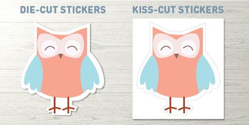 Kiss Cut